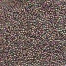 Delicas Matte Metallic Green/Pink DB380