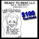 $100 Tool Rental - Ready to Rent