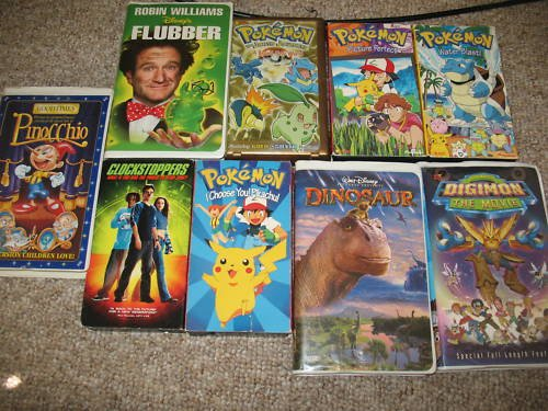 Lot of 11 Children/Kids VHS Tapes