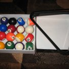 Mini Pool Ball Set WITH Triangle