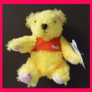 NEW! Disney Sega Classic Furry Winnie the Pooh Teddy Plush