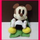 NEW! Disney Sega Mickey holding Japanese Onigiri Plush