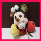 NEW! Disney Sega Mickey Ladybird Clover Plush