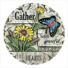 Gather Garden Stepping Stone