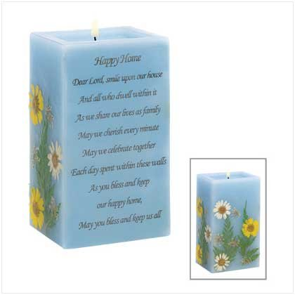 Happy Home Prayer Candle