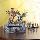 Medieval Dragon Chess Set