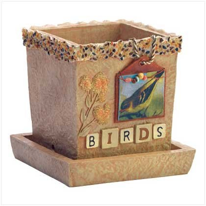 Birds Flowerpot