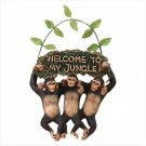 Monkey Welcome Sign