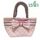 Naraya Pink Stripes Tote Bag - 451