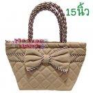 Naraya Brown Handmade Handbag/Tote/Purse/Bag  - 447