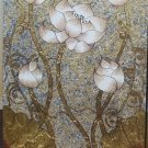 Lotus,Hand painted on Canvas A -23