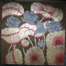 Lotus,Handpainted Acrylic With Gold Foil on Canvas -A16