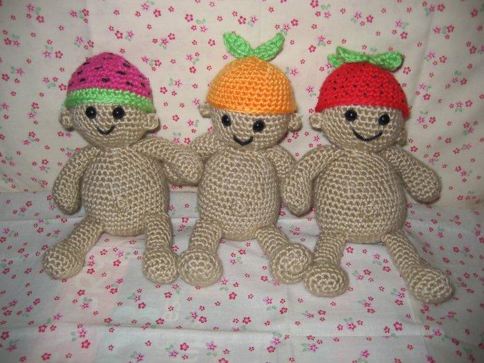 Fruity Babies Crochet Pattern