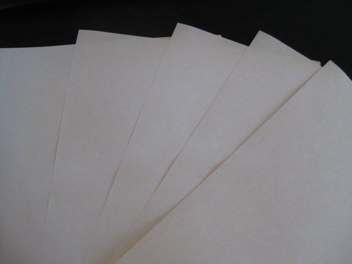 5 transfer sheets (light colour)
