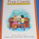Alfred's Basic PIANO Prep Course THEORY Book - Level A - NEW!