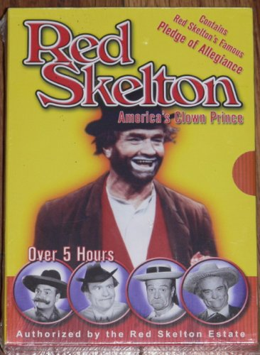 RED SKELTON America's Clown Prince DVD Boxed Set NEW!