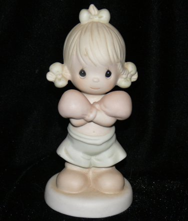 Precious Moments 1989 Collectible Figurine FAITH IS A VICTORY #521396