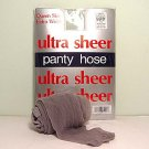 Silver Grey Ultra Sheer Queen Size Pantyhose  706Q
