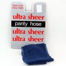 Teal Ultra Sheer Queen Size Pantyhose 719Q