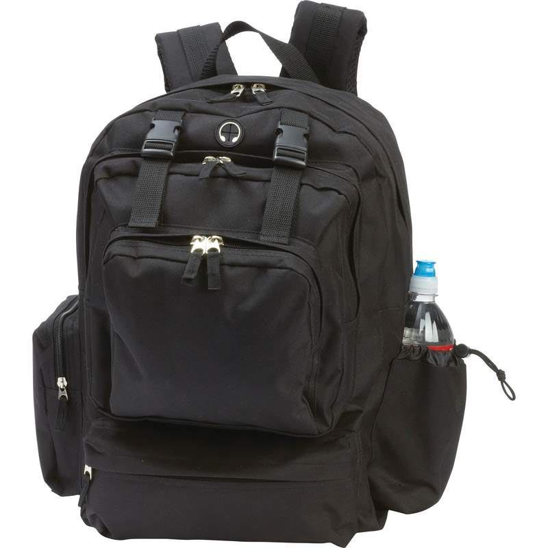 Extreme Pak 600D Construction Backpack with Phone/MP3 Player Pocket