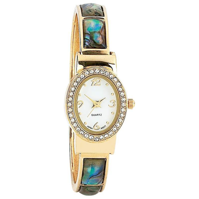 Navarre Ladies Mother-of-Pearl Inlays Japan Quartz Movement Watch