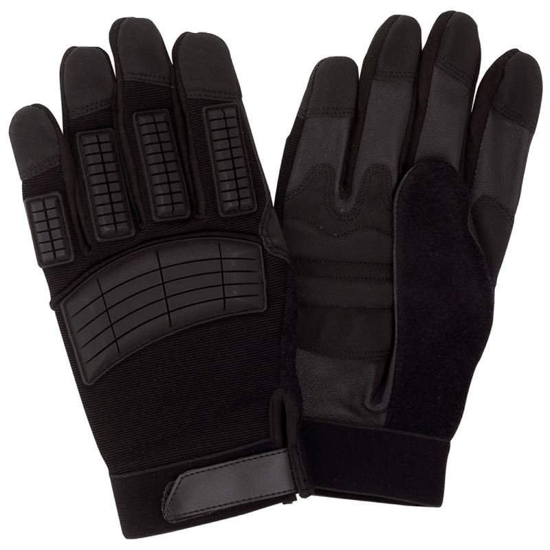 Diamond Plate 10 Pair of Motorcycle Racing Gloves with Leather Grips