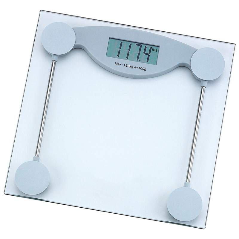 HealthSmart Electronic Bathroom Scale Weight Capacity 330 lbs