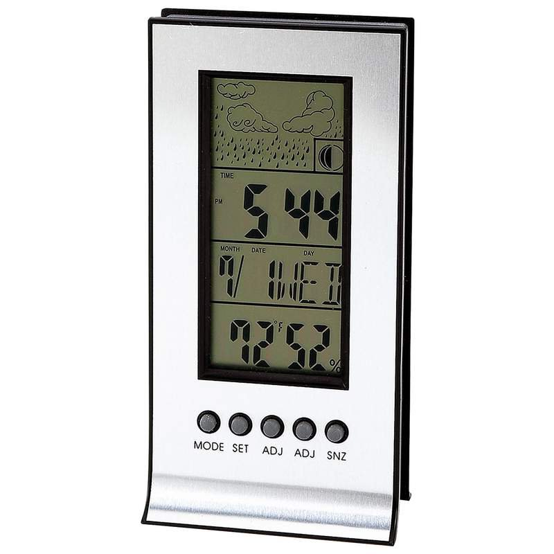 Mitaki-Japan Indoor and Outdoor Weather Station with Alarm and Snooze