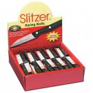 Slitzer 60pc Stainless Steel Paring Knives in Countertop Display