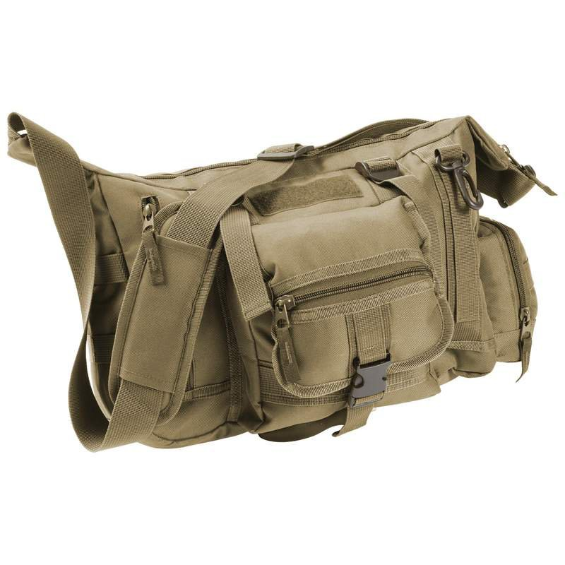 "Extreme Pak Olive Drab Green 15"" Tactical Style Messenger Bag"