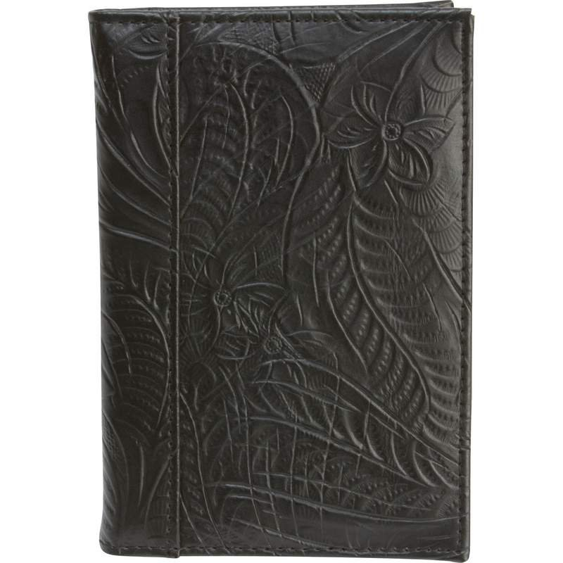 Casual Outfitters Leather Passport Cover with Multiple Slots