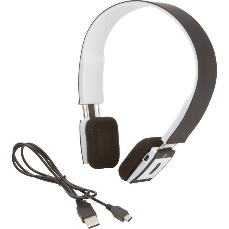 M-Tronic Bluetooth Stereo Headphones with USB Charging Cable