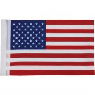 Diamond Plate 6Pc 100% Polyester Motorcycle Replacement USA Flags