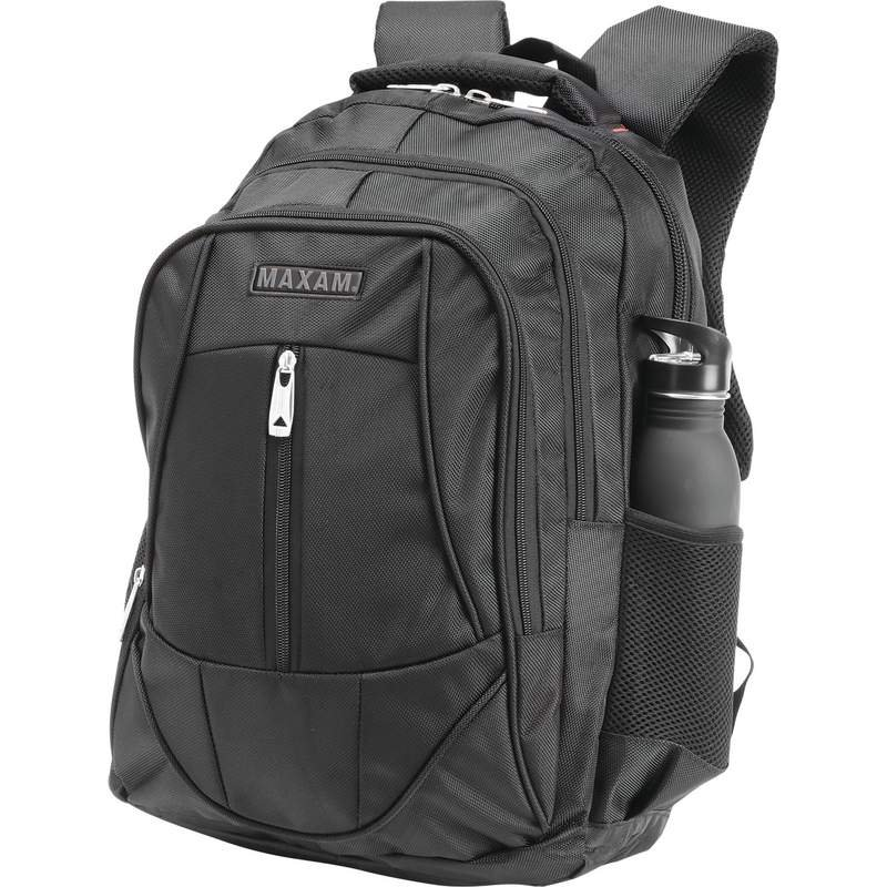 "18-1/2"" Executive Backpack with Padded Compartment for Laptop"