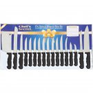 17pc Cutlery Set Feahures Surgical Stainless Steel Blades