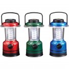 9pc 12-LED Red, Blue, Green Lanterns in Countertop Display