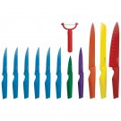 ROYAL CREST STAINLESS STEEL 12 PIECE NON-STICK KNIFE SET