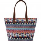 "Club Fun 19"" Southwest Style Bag with Zipper Top"
