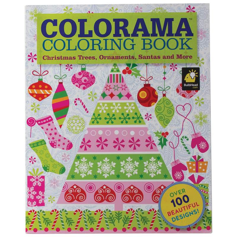 COLORAMA COLORING BOOK Christmas Edition