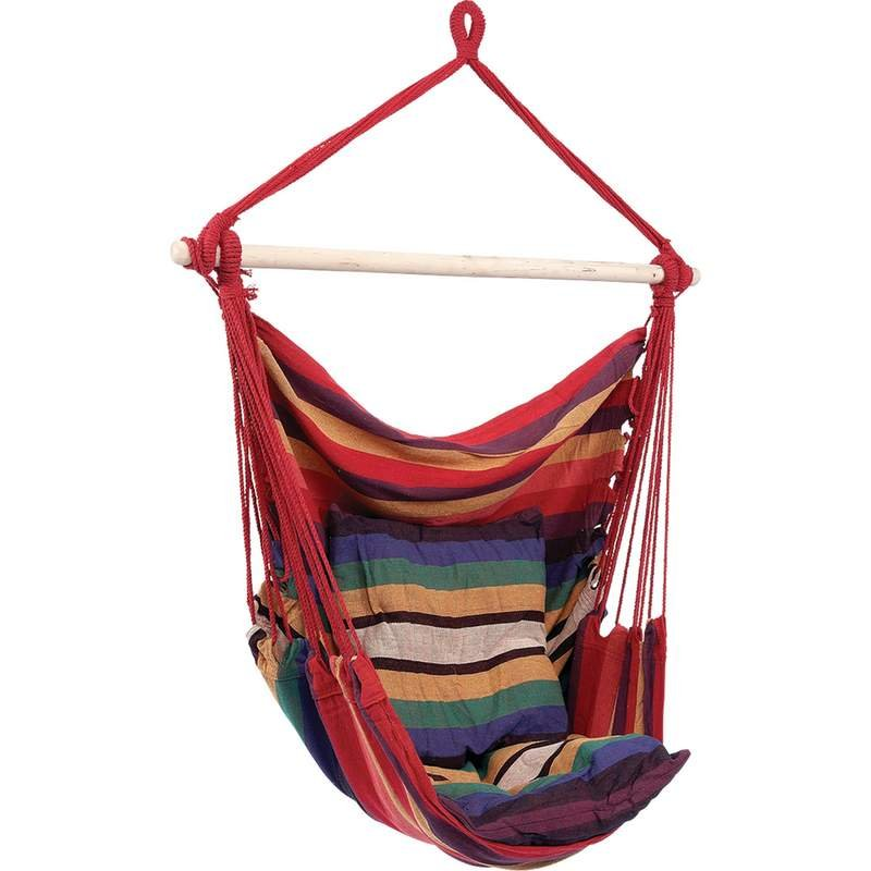 Club Fun Hanging Rope Chair Holds up to 265 lbs