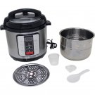 6.3 Qt Electric Pressure Cooker with Stainless Steel Inner Pot