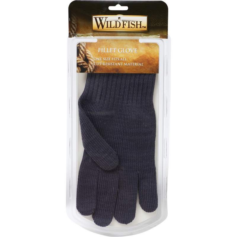 Wild Fish Stainless Steel Glove Features Cut Resistant Material