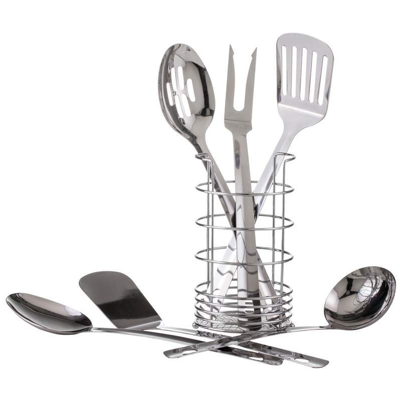 7 PC 18/8 Stainless Steel Kitchen Tool Set