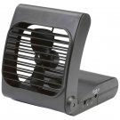 Maxam Battery Powered Portable Fan with 2 Speed Power Airflow