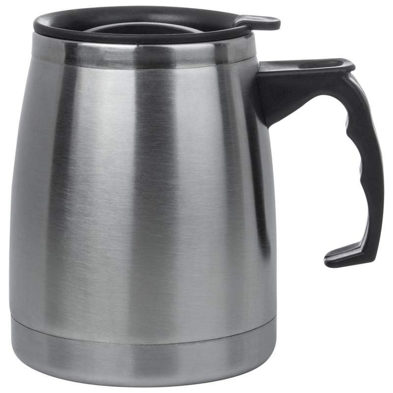 16 oz Double Wall Stainless Steel Boat Mug with Slider Lid 15% OFF