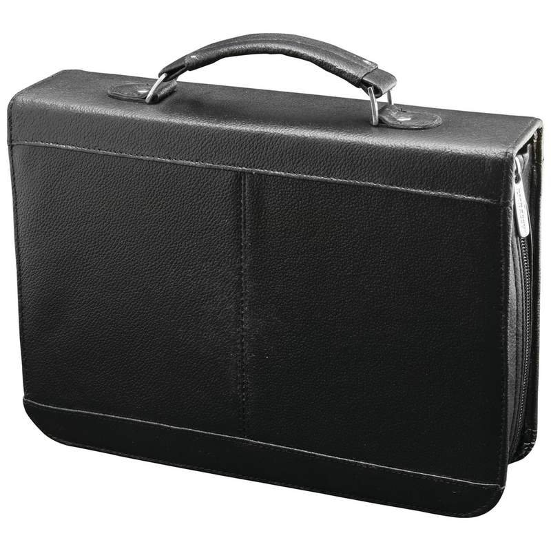 Embassy Solid Genuine Cowhide Leather Travel Electronics Case