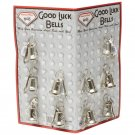 Diamond Plate 10pc Motorcycle Bells with Hangers on Display Card