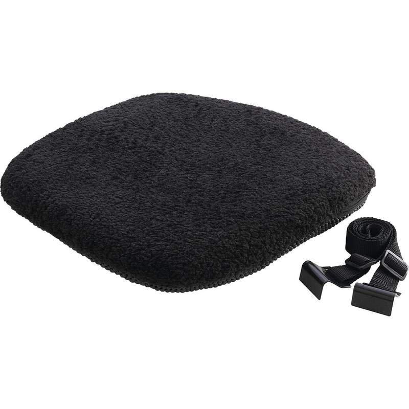 Diamond Plate Honeycomb TPE Gel/Memory Foam Motorcycle Seat Cushion