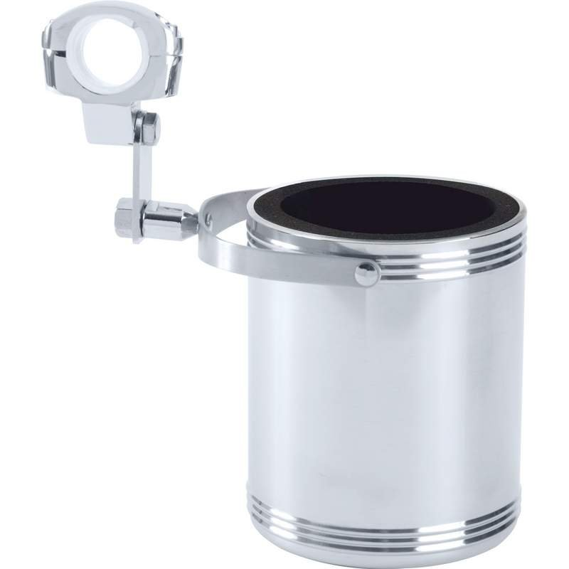Diamond Plate Large Stainless Steel Motorcycle Cup Holder Sold Out