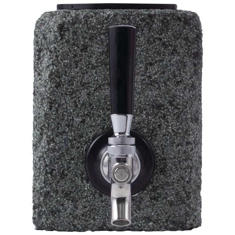 Wyndham House Granite Liquor Dispenser with Stainless Steel Tap